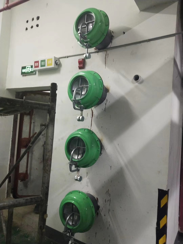 人防通风设备在地下系统的设计说明