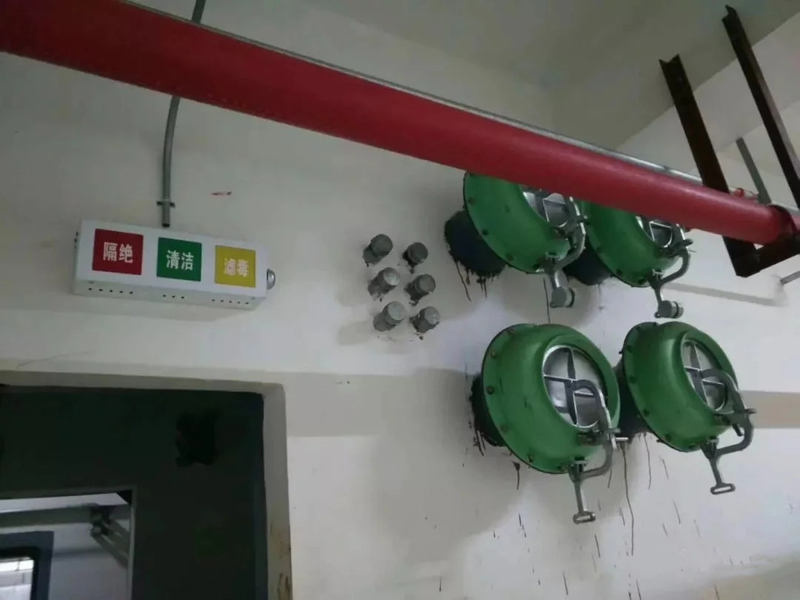 超压排气活门
