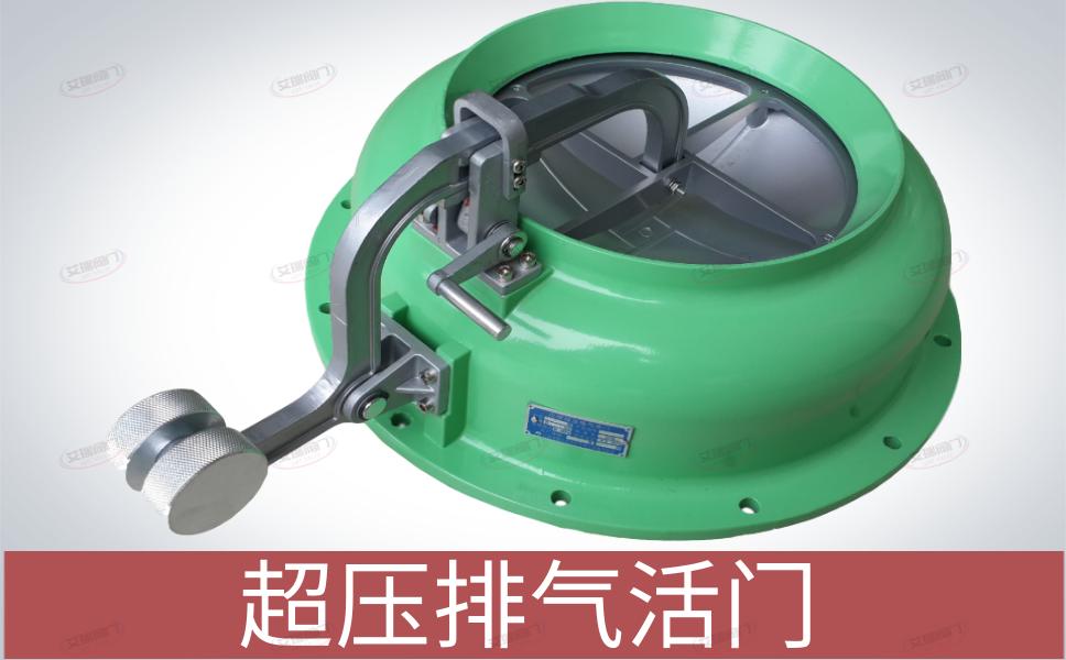 PS-D250型超压排气活门安装图